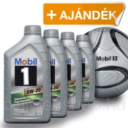 Mobil 1 Advanced Fuel Economy 0W-20 4L