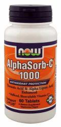 NOW AlphaSorb-C 1000mg tabletta - 60 db