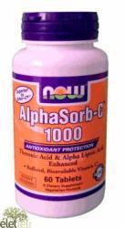 NOW AlphaSorb-C 1000mg tabletta - 120 db