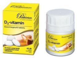 Parma Produkt Gyógyszergyártó Kft. Patikárium - D3-vitamin tabletta - 60 db