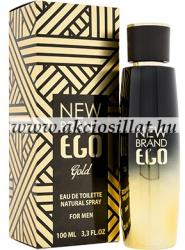New Brand Ego Gold EDT 100ml