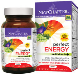 New Chapter Perfect Energy multivitamin tabletta - 72 db