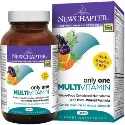 New Chapter Only One Multivitamin tabletta- 72 db