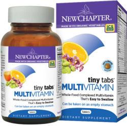 New Chapter Tiny Tabs Multivitamin tabletta - 192 db