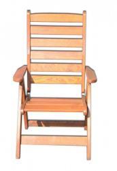 Rustika állítható kerti szék