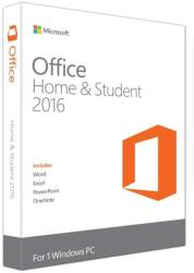 Microsoft Office 2016 Home & Student for Win 32/64bit ROU 79G-04616