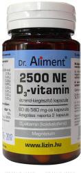 Dr. Aliment D-vitamin 2500 NE kapszula - 60 db