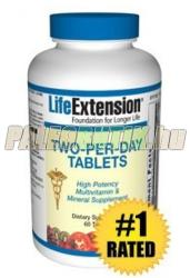 Life Extension Two-Per-Day multivitamin tabletta - 60 db