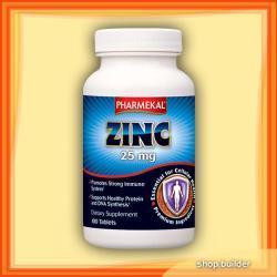 Pharmekal Zinc 25mg cink tabletta - 100 db