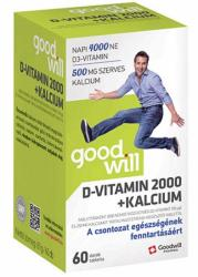 Goodwill Pharma Kft. D-Vitamin 2000+Kalcium tabletta - 60 db
