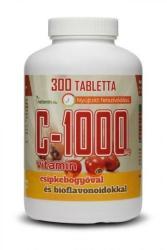 netamin C-1000 C-vitamin tabletta csipkebogyóval és bioflavonoidokkal - 300 db