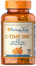 Puritan's Pride C-Time 1500mg C-vitamin csipkebogyóval kapszula - 100 db