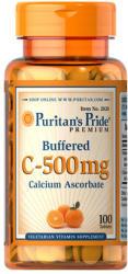 Puritan's Pride Buffered C-500mg C-vitamin tabletta - 100 db