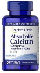 Puritan's Pride Absorbable Calcium kapszula - 60 db