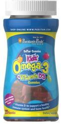 Puritan's Pride Children's Omega 3+D3-vitamin gumicukor - 120 db