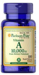 Puritan's Pride Vitamin A 10000 IU kapszula - 100 db