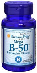 Puritan's Pride Mega B-50 B-Complex Vitamin kapszula - 100 db