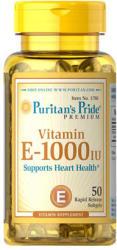 Puritan's Pride Vitamin E-1000 IU kapszula - 50 db