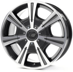 Borbet CH mistral anthracite polished glossy 5/130 17x7.5 ET63