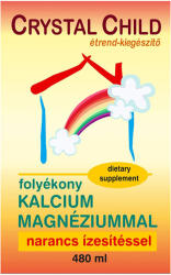 Vita Crystal Child Folyékony Kalcium-Magnézium - 480ml