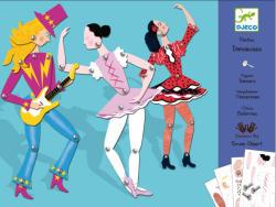 DJECO Mozgó figurák - Táncosok