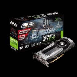 ASUS GeForce GTX 1070 Founders Edition 8GB GDDR5 256bit PCI-E (GTX1070-8G)