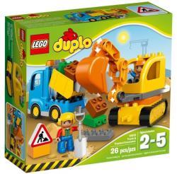 LEGO Duplo - Teherautó és lánctalpas exkavátor (10812)