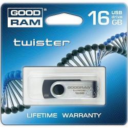 GOODRAM Twister Slim Retail 16GB USB 2.0 PD16GH2GRTSKR9