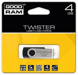 GOODRAM Twister 4GB USB 2.0 PD4GH2GRTSKR9