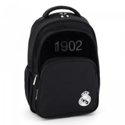 Ars Una Real Madrid 3 rekeszes tinédzser hátizsák, fekete (94767582)