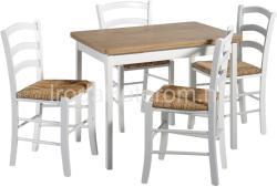 HALMAR Colt étkezőasztal 4 Peso székkel
