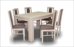 Sophia étkezőgarnitúra Félix asztallal - 6 személyes