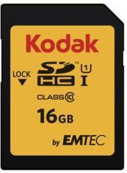 Kodak SDHC 16GB Class 10 EKMSD16GHC10K