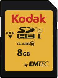 Kodak SDHC 8GB Class 10 EKMSD8GHC10K