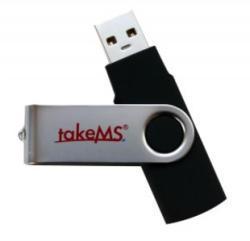 takeMS Mini Rubber 4GB TMS4GUMIR1R