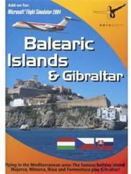 Microsoft Balearic Islands & Gibraltar Add-on for Microsoft Flight Simulator 2004 (PC)