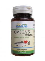 Nutrilab Omega-3 1000mg halolaj kapszula - 30 db