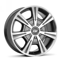Borbet CH mistral anthracite polished 5/160 17x7.5 ET47