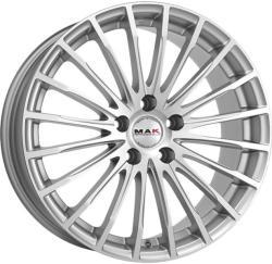 Mak Fatale Silver CB76 5/114.3 17x7.5 ET40
