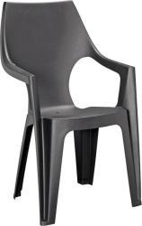 Curver Dante High magas támlás műanyag kerti szék