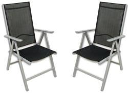 Összecsukható kerti szék készlet (2db)