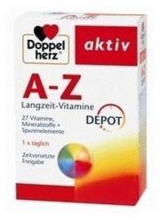 Doppelherz A-Z Depot tabletta luteinnel - 40 db