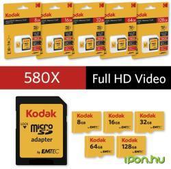 Kodak MicroSDHC 8GB UHS-I EKMSDM8GHC10K
