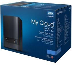 Western Digital My Cloud EX2 Ultra 4TB USB 3.0 WDBVBZ0040JCH