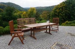 ANETA - kerti pad fából