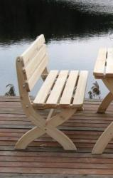 STRONG - kerti pad fából, FSC