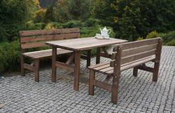 MIRIAM - kerti pad fából