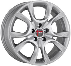 Mak Torino Silver CB56.6 4/100 15x6 ET43
