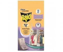 Raid Active Paper molyirtó lap 4db