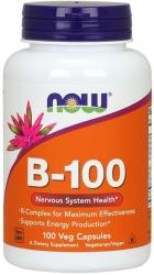 NOW B-100 B-vitamin tabletta - 100 db